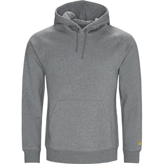 Hooded Chase Sweat - Sweatshirts - Regular - Grå